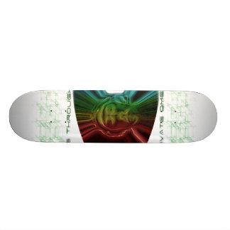 Time Board 21.6 Cm Old School Skateboard Deck