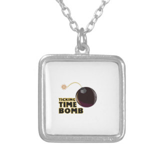 Time Bomb Personalized Necklace