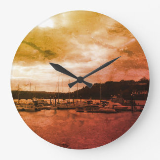 Time By The Sea Wallclocks