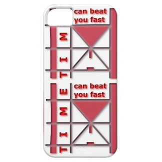 Time Can Beat You Fast iPhone 5 Covers