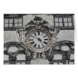 Time Clock, Lucca Italy Card