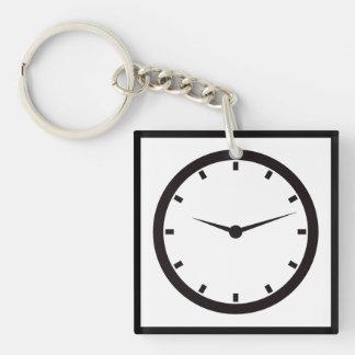 Time Clocked Key Ring
