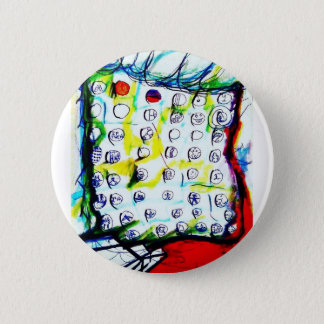 Time Crystals and The Quantum Soup by Luminosity 6 Cm Round Badge