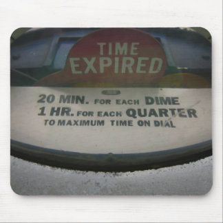 Time Expired mousepad