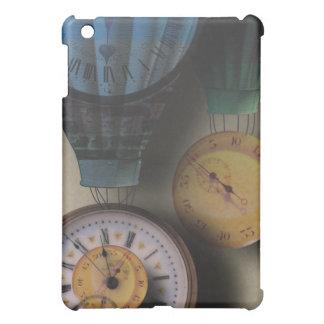 Time Flies Dirigible Steampunk Clock Air Ships iPad Mini Cases
