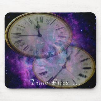 Time Flies Mousepad