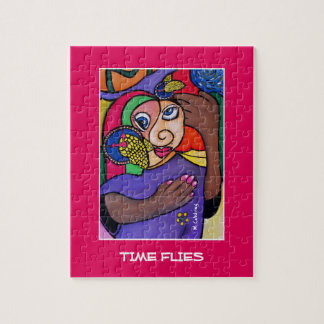 Time Flies  - Time Pieces Jigsaw Puzzle