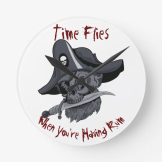 Time flies when you're having rum! clocks