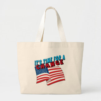 Time For A Change Political T-shirts Gifts Tote Bags