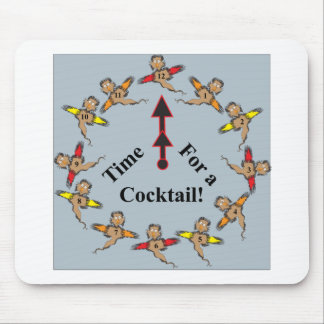Time for a Cocktail! Mouse Pad