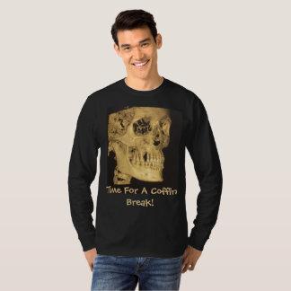 Time For A Coffin Break Skull T-Shirt