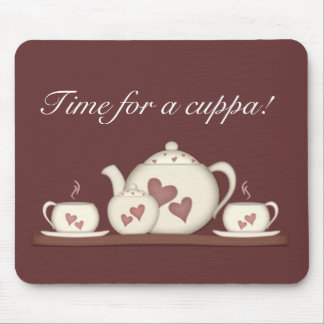 Time for a cuppa! mouse pad