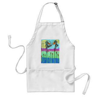 Time for a Facelift Baby Apron