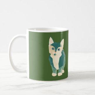 Time for a Kit-tea Basic White Mug