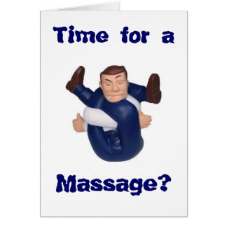 Time for a Massage? blank inside I n... Card