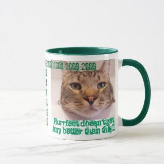 Time for a pat on back mug