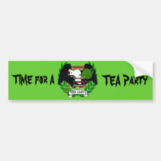 Time for A TEA Party Bumper Sticker