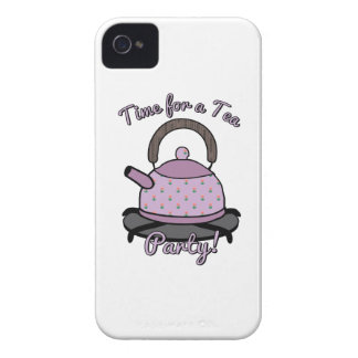 Time For A Tea Party! iPhone 4 Case-Mate Case