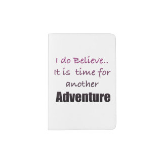 Time for Adventure Passport Holder