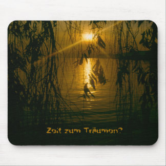 Time for dreams mouse pad