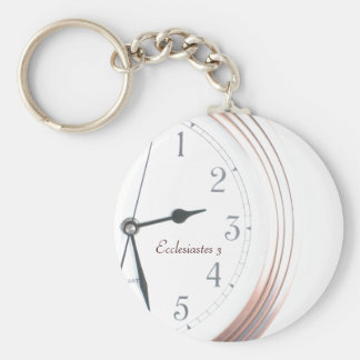Time for Everything Key Ring