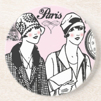 Time for Paris Drink Coaster