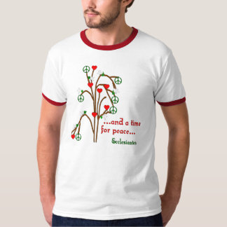Time For Peace T Shirts
