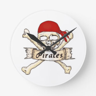 Time for Pirates! Clocks