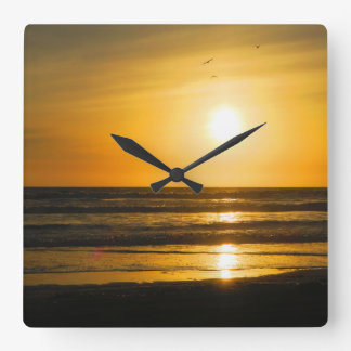 Time for Pismo Beach Wall Clocks