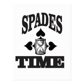 time for spades yeah postcard