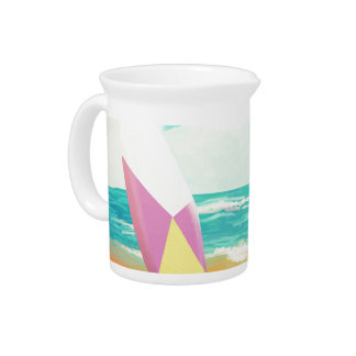 Time for surfing! pitcher