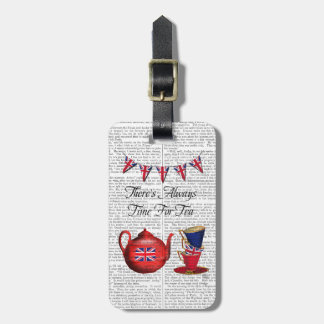 Time For Tea 2 Luggage Tag
