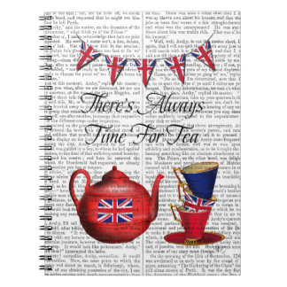 Time For Tea 2 Notebook