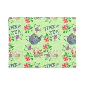 TIME for TEA Doormat