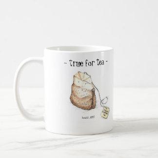 time for tea! coffee mug