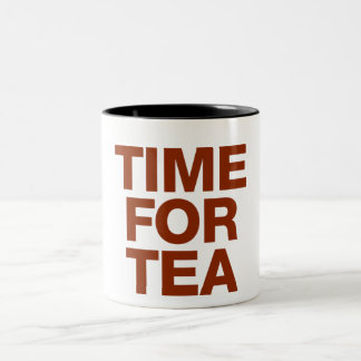Time for Tea Two-Tone Mug