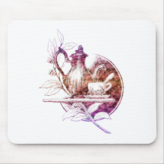 Time for Tea Nostalgic Design Mousepads