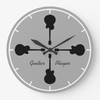 time for the guitarist to play guitar clock