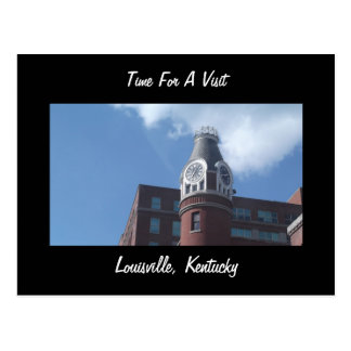 Time For  Visit Louisville Kentucky Postcard