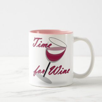Time for Wine Mug