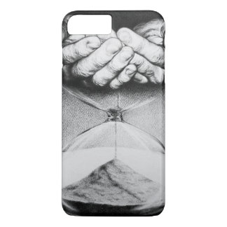 Time hourglass surreal drawing iPhone 7 plus case