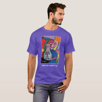 Time In A Bottle - Purple  - Time Pieces T-Shirt