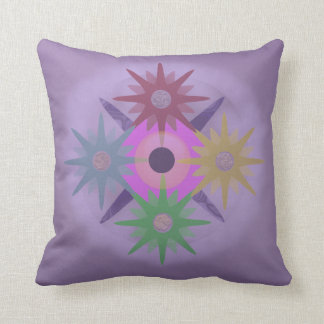 Time in Purple Cushion