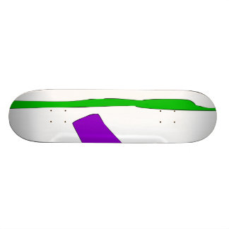 Time in the Snow without Memory 21.6 Cm Old School Skateboard Deck