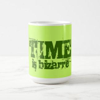 TIME is bizarre Basic White Mug