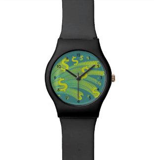 Time Is Money Dollar Symbol Watch