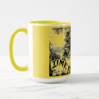 Time is Precious Combo Yellow Coffee Mug