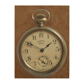 Time Is Precious Don't Let It Pass You By! Wood Wall Art