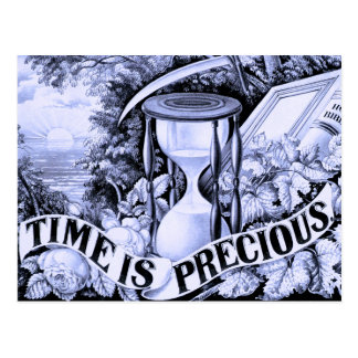 Time is Precious Postcard
