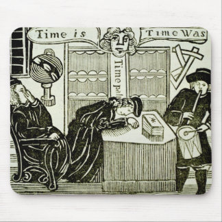 Time Is Time Was copy of an illustration from Mousepads